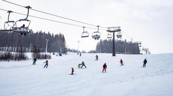 Víkend na lyžích